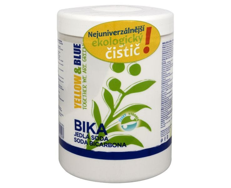Yellow & Blue BIKA - jedlá soda (Objem PE sáček 1 kg)