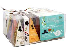 English Tea Shop Dárková kolekce 12 BIO pyramidek Wellness 6 příchutí