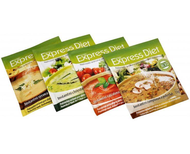 Good Nature Express Diet - instantní polévka (Příchuť Rajčatová 57 g)