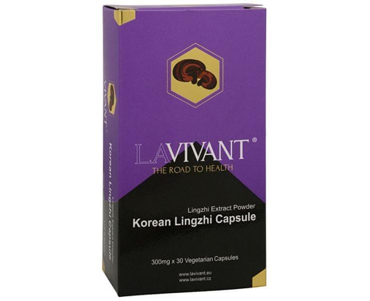 Lavivant Korean Lingzhi 30 kapslí