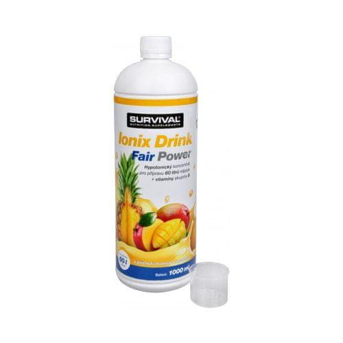 Survival Ionix Drink Fair Power 1000 ml (Příchuť Ionix Drink Fair Power Ananas + Mango)