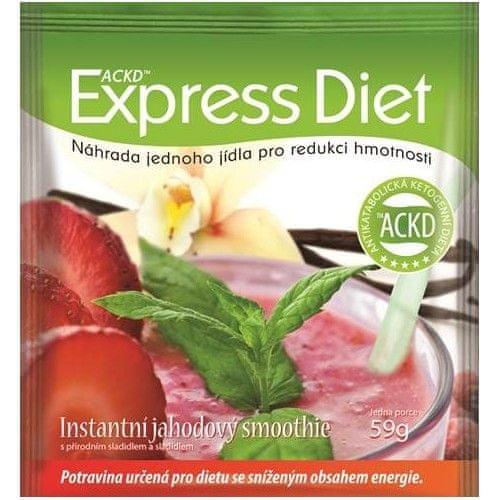 Good Nature Express Diet - instantní jahodový smoothie 59 g