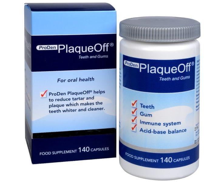 PlaqueOff Proden PlaqueOff® Teeth and Gums 140 kapslí