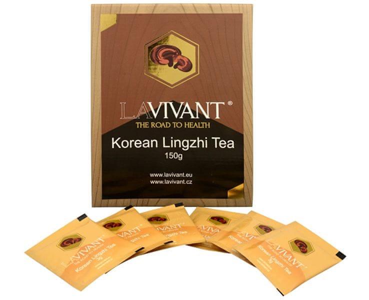 Lavivant Korean Lingzhi Tea (Ganoderma, reishi) 50 x 3 g