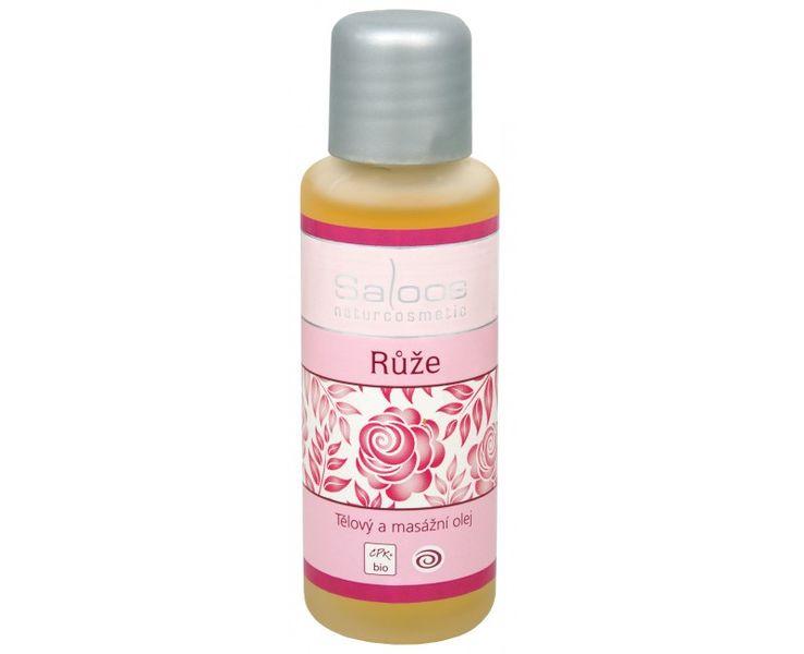Saloos Bio tělový a masážní olej - Růže 50 ml