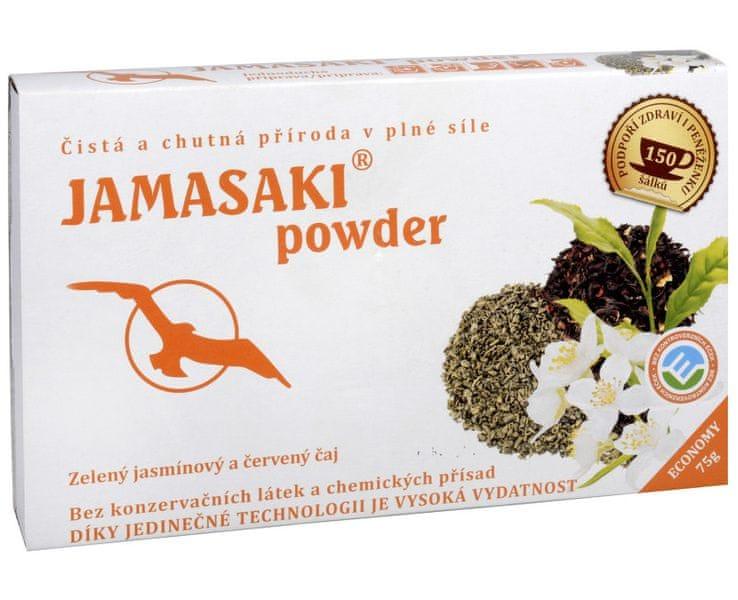 Phoenix Division Jamasaki powder - zelený jasmínový a červený čaj 75 g