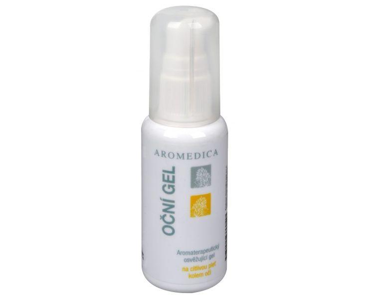 Aromedica Oční gel - aromaterapeutický osvěžující gel na citlivou pleť kolem očí 50 ml