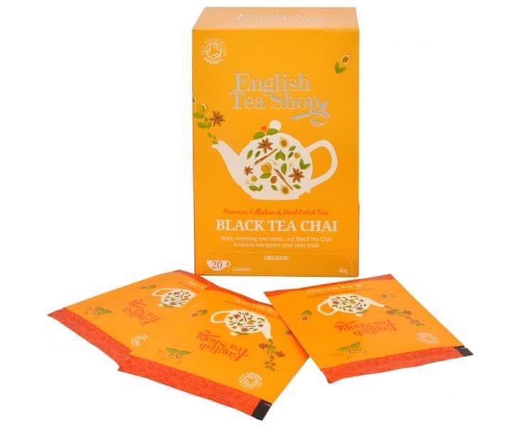 English Tea Shop Černý čaj Chai 20 sáčků