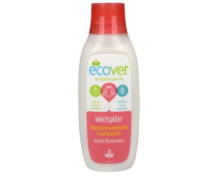 Ecover Aviváž pro všechny druhy tkanin s jemnou levandulovou vůní 750 ml