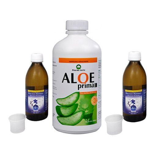 Pharma Activ Koloidní minerály 2x 300 ml + Aloe Prima gel 1 l ZDARMA