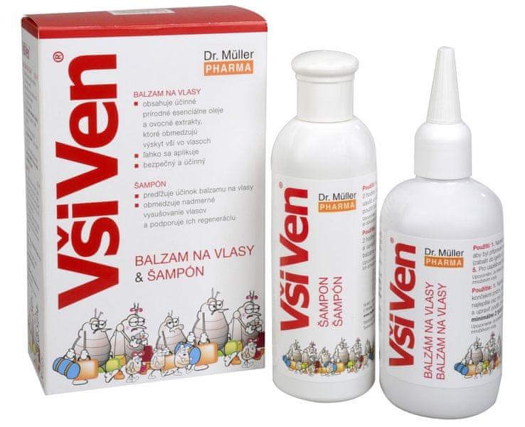 Dr. Müller VšiVen balzám 150 ml a šampon 150 ml