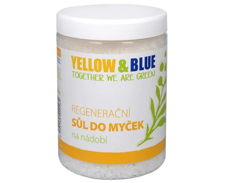 Yellow & Blue Regenerační sůl do myčky na nádobí (Objem PE sáček 3 kg)