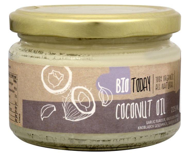 BIO Kokosový olej s česnekem 225 ml