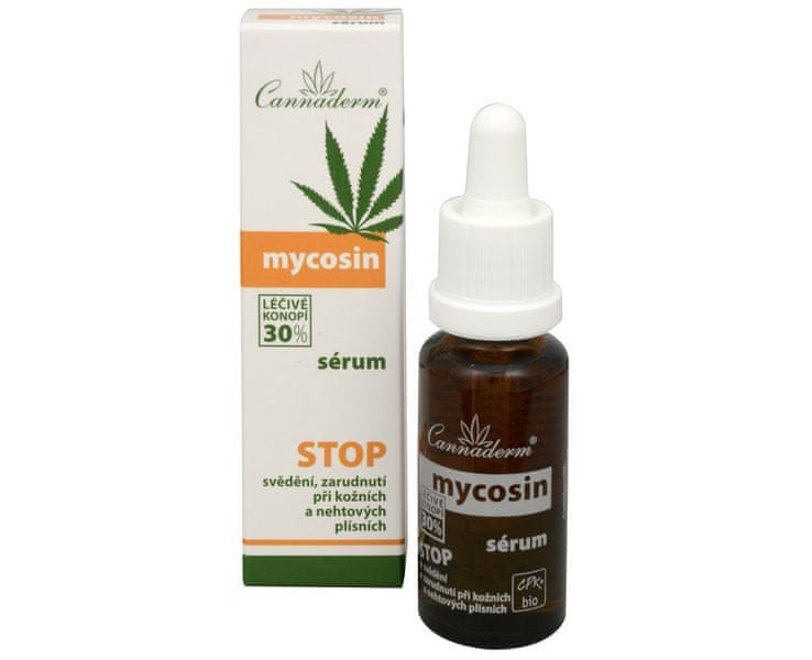 Cannaderm Ošetřující sérum Mycosin 20 ml