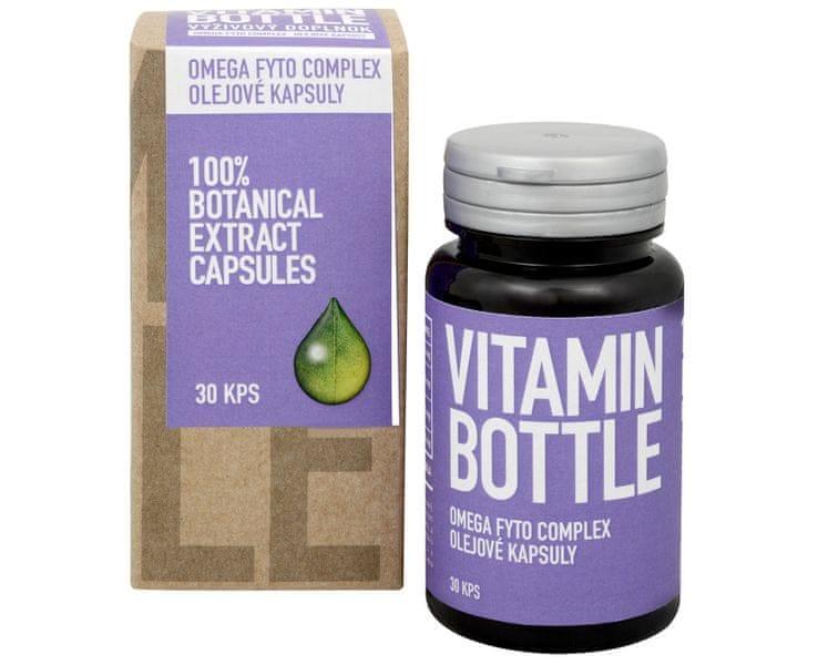 Vitamin-Bottle Omega Fyto Complex 30 kapslí