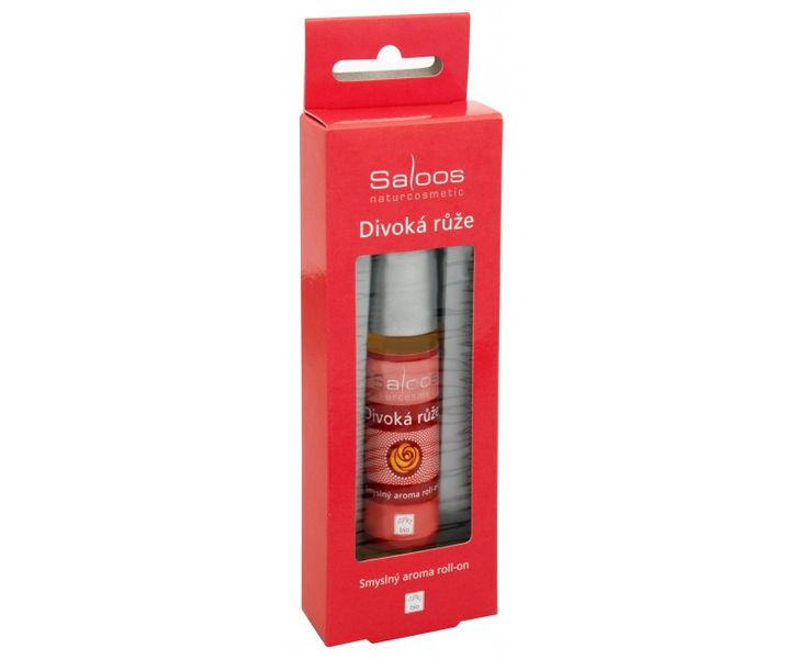 Saloos Bio Aroma roll-on - Divoká růže 9 ml