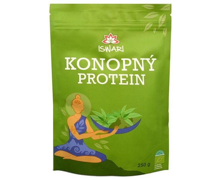 Iswari Bio Konopný protein (Objem 1 kg)