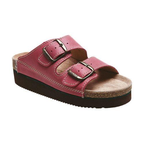 SANTÉ Zdravotní obuv dámská N/25/C30/H/K/CP světle červená (Velikost vel. 41)