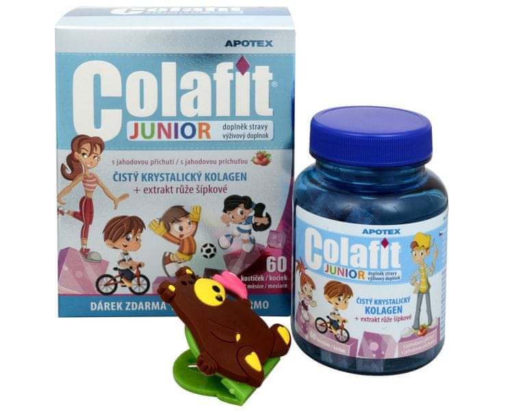 APOTEX Colafit Junior 60 kostiček