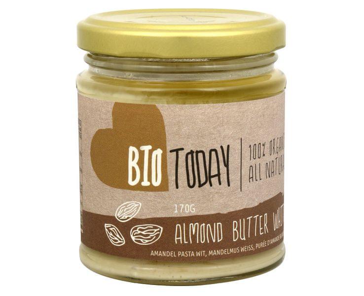 BIO Mandlové máslo bílé 170 g