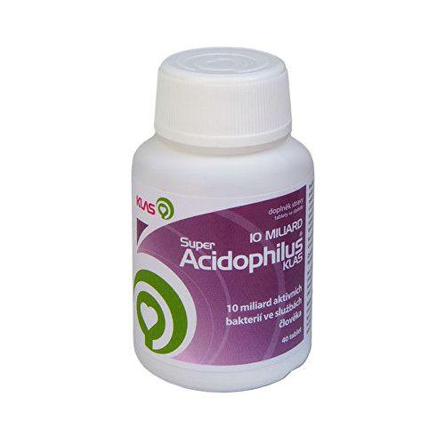 Klas Super Acidophilus plus 10 miliard 40 cucacích tbl.