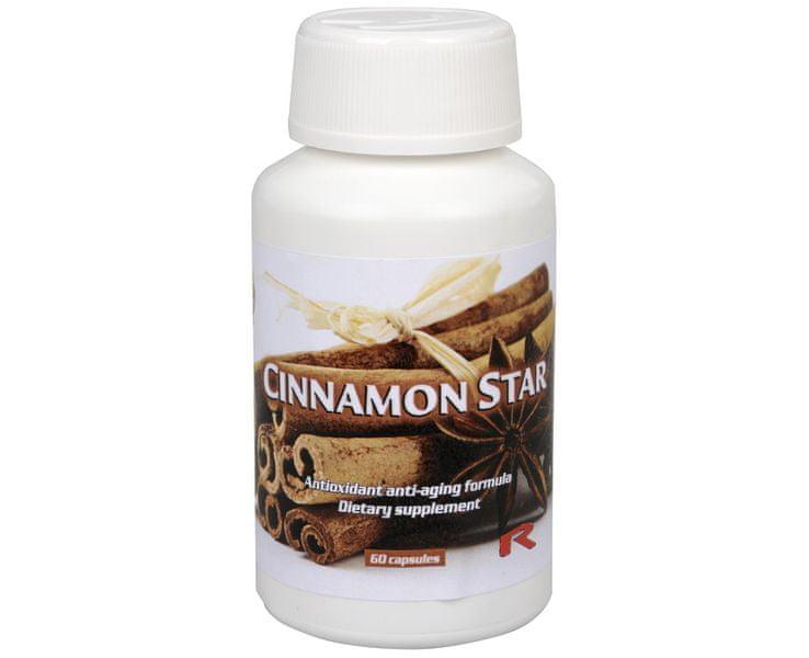 Starlife CINNAMON STAR 60 kapslí