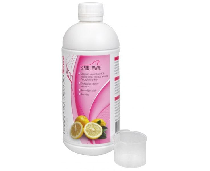 Survival L-Carnitin + HCA Thermo slim Natural s příchutí citronu 500 ml