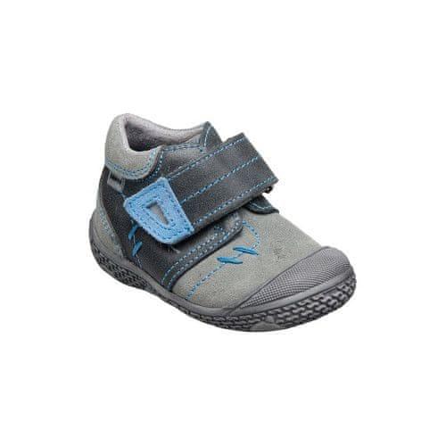 SANTÉ Zdravotní obuv dětská N/661/401/69/18/87 černo-modrá (Velikost vel. 22)