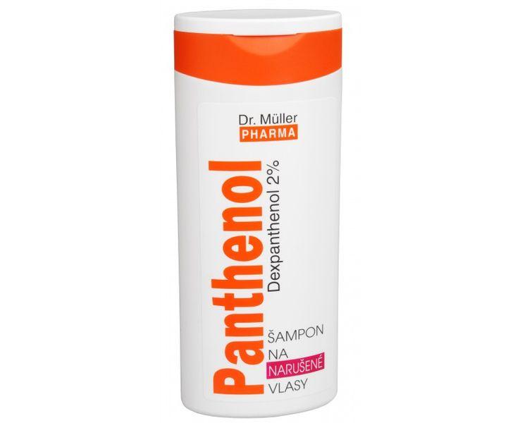 Dr. Müller Panthenol šampon na narušené vlasy 250 ml