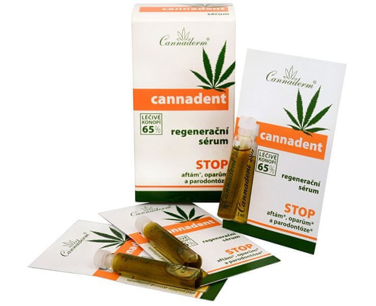 Cannaderm Cannadent sérum 10 x 1,5 ml