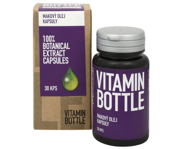 Vitamin-Bottle Makový olej 30 kapslí