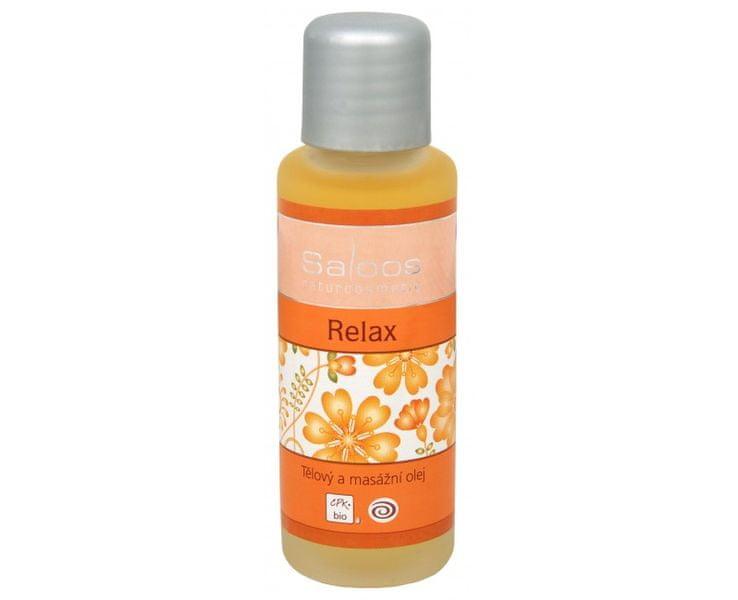 Saloos Bio tělový a masážní olej - Relax 50 ml