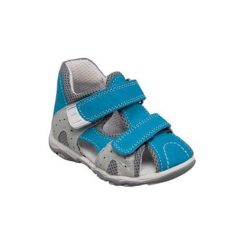 SANTÉ Zdravotní obuv dětská N/810/301/80/15 tyrkysová (Velikost vel. 24)