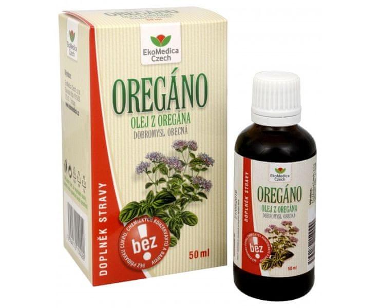 EkoMedica Czech Oregáno (Dobromysl obecná) - olej 50 ml