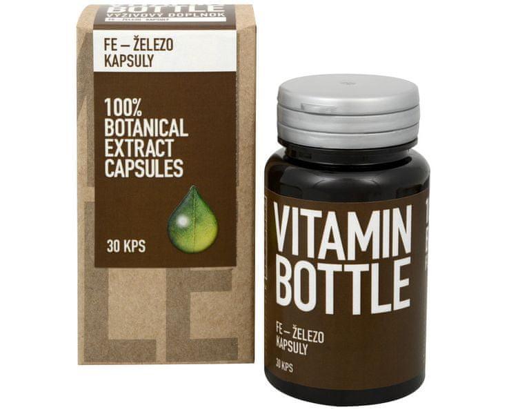 Vitamin-Bottle Fe – železo 30 kapslí