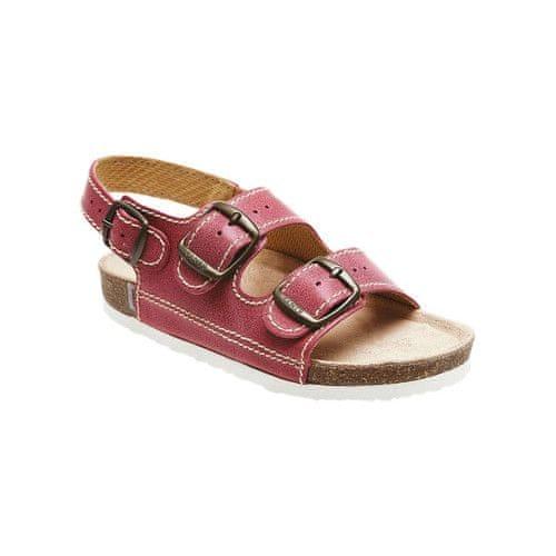 SANTÉ Zdravotní obuv dětská D/302/C30/BP červená (Velikost vel. 33)