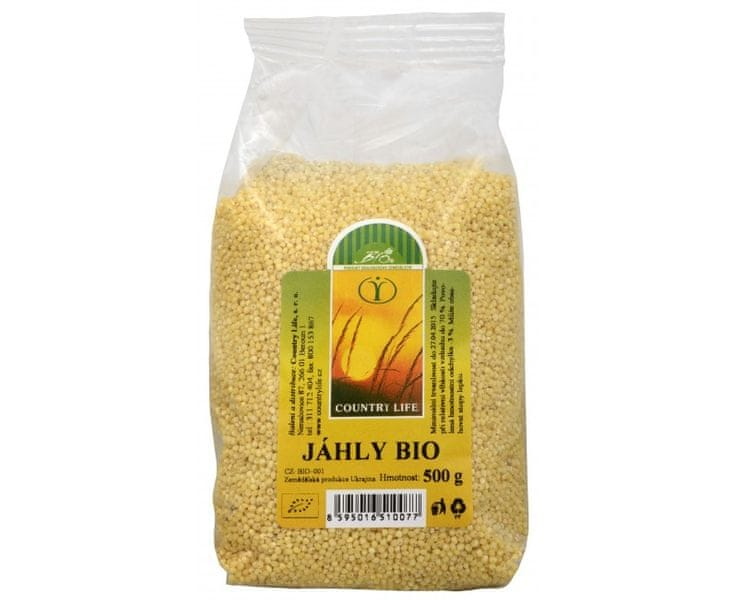 Country Life Bio Jáhly 500 g