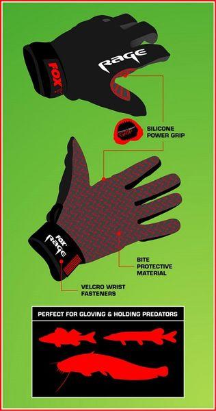 Fox Rage Rukavice Gloves XL