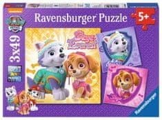 Ravensburger Puzzle 080083 Tlapková Patrola 3x49 dílků