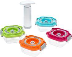 Status set vakuumskih posod za otroško hrano, 5-delni