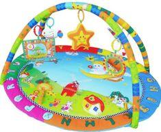 Sun Baby Mata Ogródek z dźwiękami i świecącą zabawką