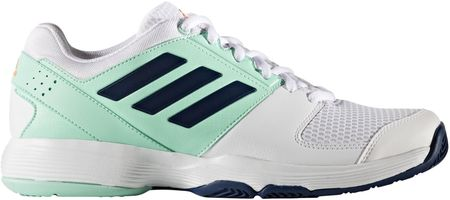 Adidas Buty Barricade Court W Ftwr White/Mystery Blue /Easy Green 40 2/3