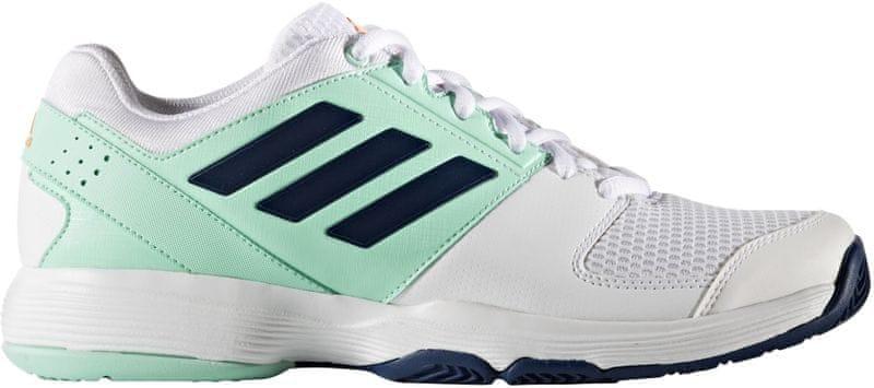 Adidas Barricade Court W Ftwr White/Mystery Blue /Easy Green 39.3