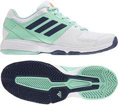 Adidas športni copati Barricade Court, beli/modri