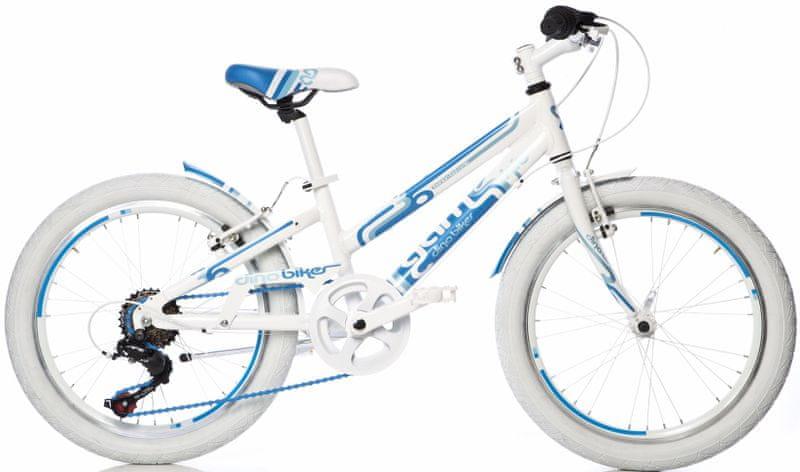 """Dino bikes Aurelia 20"""" dívčí modrá"""