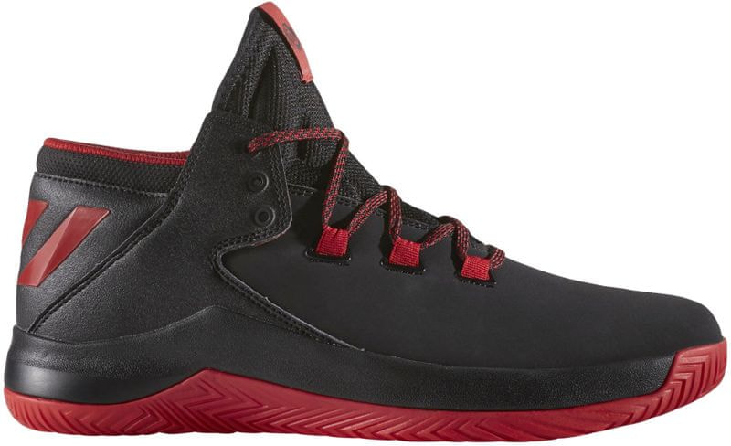 Adidas D Rose Menace 2 Core Black/Scarlet/Core Black 47.3
