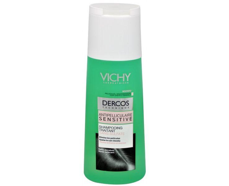 Vichy Bezsulfátový šampon proti lupům pro citlivou pokožku Dercos (Anti-Dandruff Sensitive Treatment Shamp