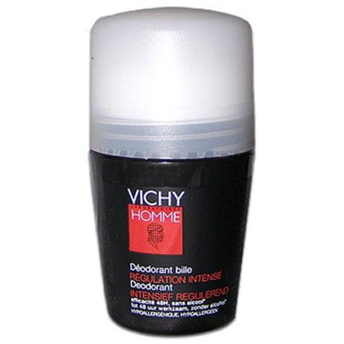 Vichy Kuličkový deodorant pro muže Homme Deo roll-on Regulation Intense 50 ml