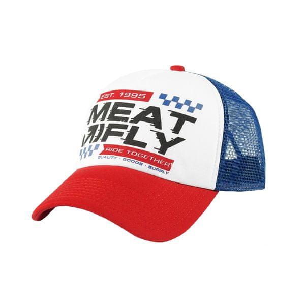 MEATFLY unisex bílá kšiltovka Gonzales Trucker