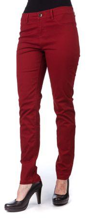 Timeout ženske hlače 38/30 bordo rdeča